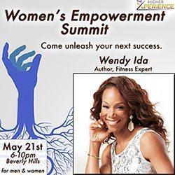 Wendy Ida at the Women's Empowerment Summit