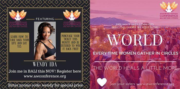 Awakened Woman Event in Bali