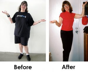 Lynn Sasai Before and After pics