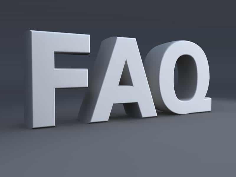 WENDY IDA'S FREQUENTLY ASKED QUESTIONS (FAQ's)