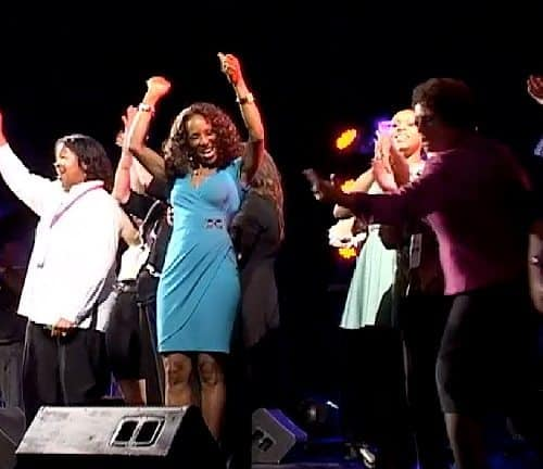 Wendy Ida on stage