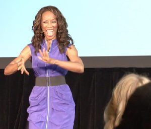 wendy ida is a vibrant speaker