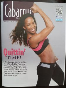 Wendy Ida on the cover of Cabarrus