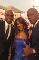 Kevin Frazier and Tyrese
