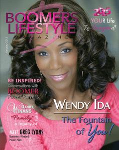 Wendy Ida on Boomers Lifestyle Magazine cover