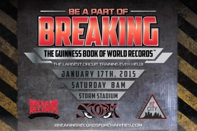 Be a part of breaking a GUINNESS WORLD RECORD!