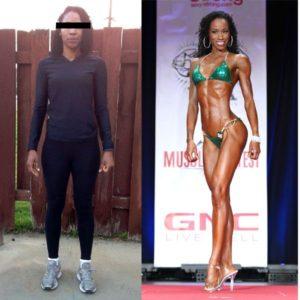 before-after Jamessa Jones