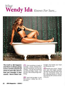 Wendy Ida, BFW Magazine