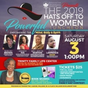 2019 Hats Off to Powerful Women: Empowering the Mind, Body and Spirit