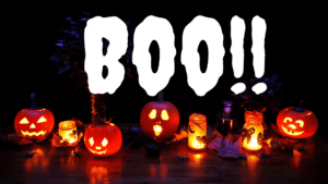Boo! Don't Be Scared This Spooky Season