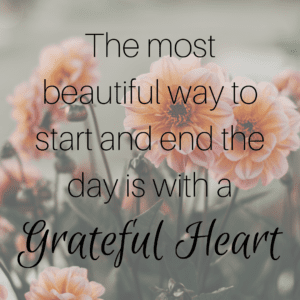 Giving Thanks is Essential