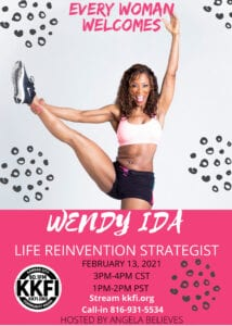 Wendy Ida Feb 13, 2021 Event